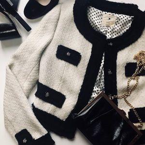 XXI Tweed Crop Blazer